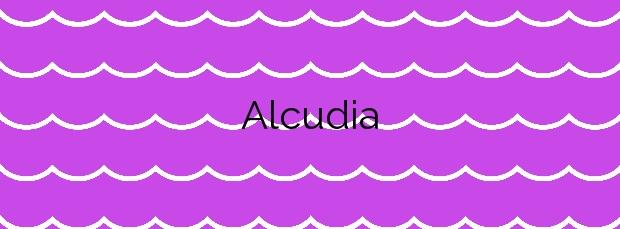 Información de la Playa Alcudia en Alcúdia