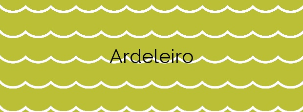 Información de la Playa Ardeleiro en Carnota