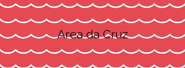 Información de la Playa Area da Cruz en O Grove