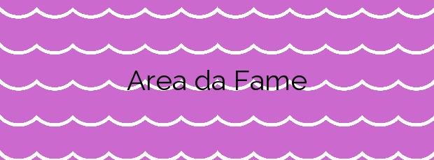 Información de la Playa Area da Fame en Foz