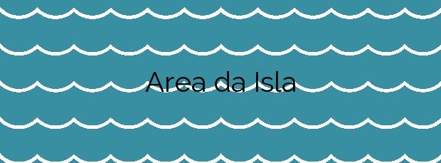 Información de la Playa Area da Isla en Marín