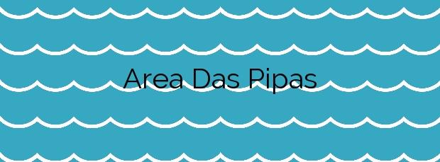 Información de la Playa Area Das Pipas en O Grove
