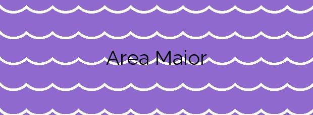 Información de la Playa Area Maior en Muros