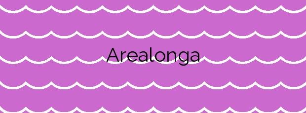 Información de la Playa Arealonga en Foz