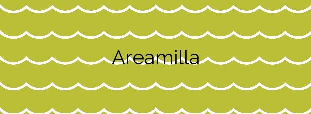 Información de la Playa Areamilla en Cangas