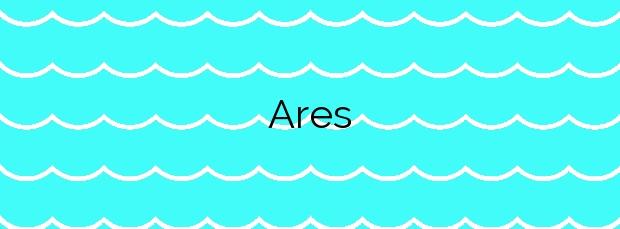 Información de la Playa Ares en Ares