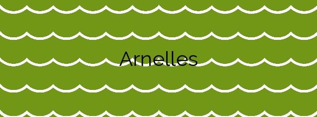Información de la Playa Arnelles en Coaña