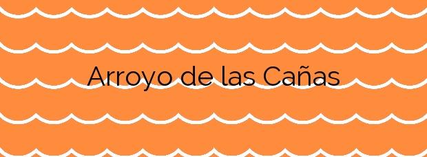 Información de la Playa Arroyo de las Cañas en Estepona