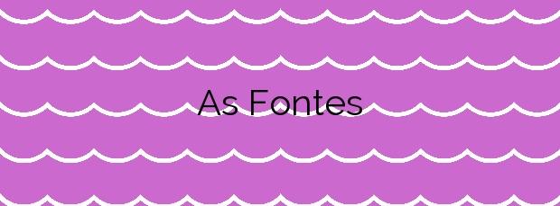 Información de la Playa As Fontes en Ferrol