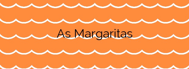 Información de la Playa As Margaritas en A Illa de Arousa