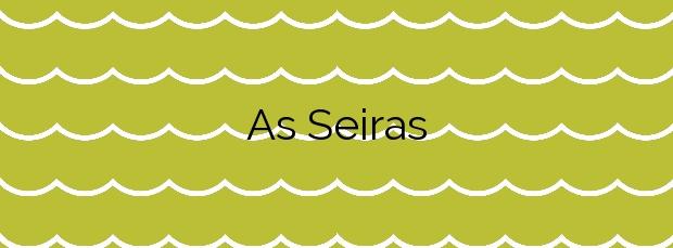Información de la Playa As Seiras en Porto do Son
