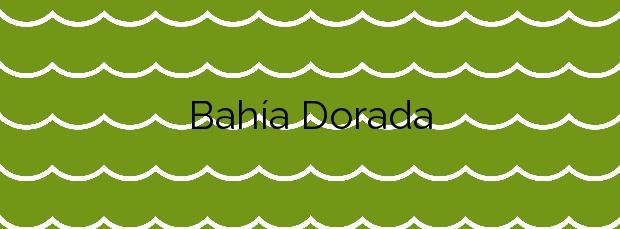 Información de la Playa Bahía Dorada en Estepona