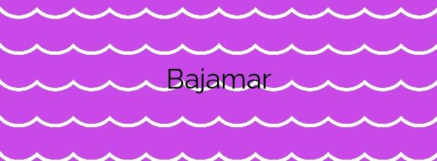 Información de la Playa Bajamar en Breña Alta