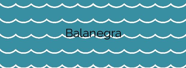 Información de la Playa Balanegra en Berja