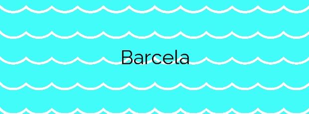 Información de la Playa Barcela en O Grove