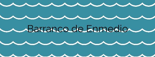 Información de la Playa Barranco de Enmedio en Almuñécar