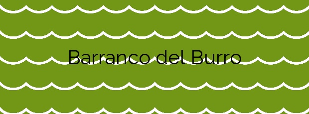 Información de la Playa Barranco del Burro en Tinajo