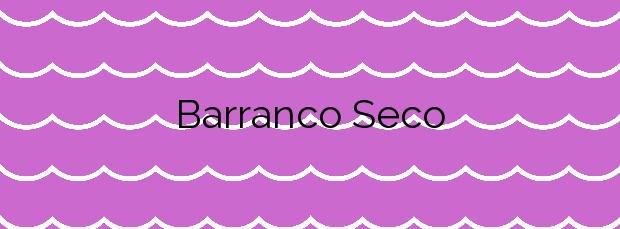 Información de la Playa Barranco Seco en Santiago del Teide