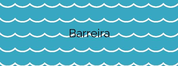Información de la Playa Barreira en Muxía