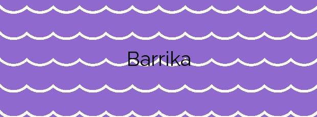 Información de la Playa Barrika en Barrika