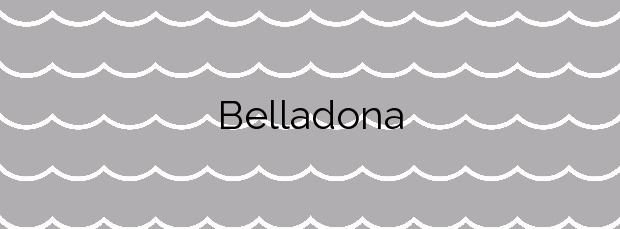 Información de la Playa Belladona en Calonge