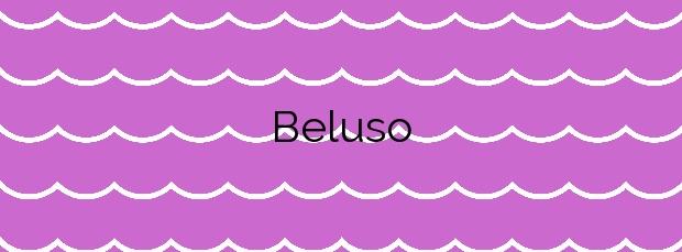 Información de la Playa Beluso en Bueu