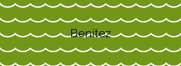 Información de la Playa Benítez en Ceuta