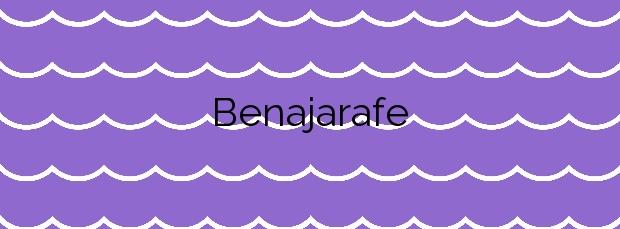 Información de la Playa Benajarafe en Vélez-Málaga