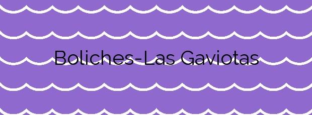 Información de la Playa Boliches-Las Gaviotas en Fuengirola