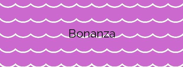 Información de la Playa Bonanza en Sanlúcar de Barrameda