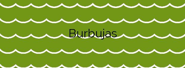 Información de la Playa Burbujas en Cedeira