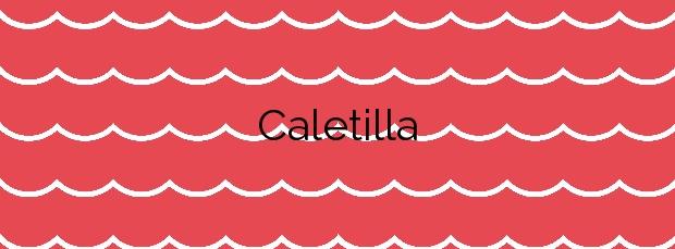 Información de la Playa Caletilla en Almuñécar