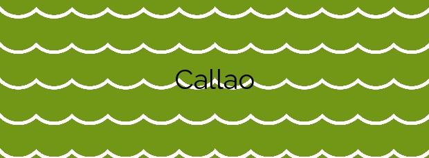 Información de la Playa Callao en Güímar