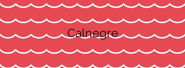 Información de la Playa Calnegre en Cartagena