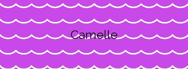Información de la Playa Camelle en Camariñas