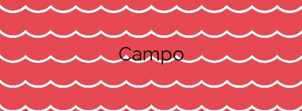 Información de la Playa Campo en A Pobra do Caramiñal