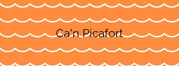 Información de la Playa Ca'n Picafort en Santa Margalida