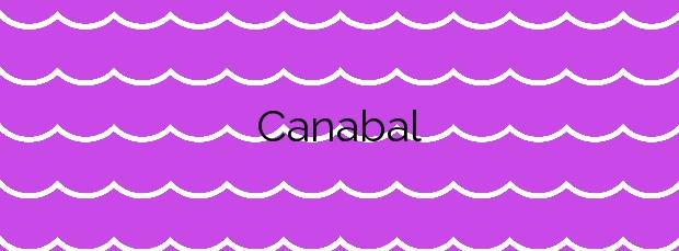 Información de la Playa Canabal en Moaña