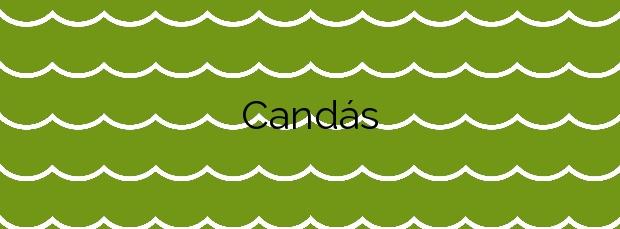 Información de la Playa Candás en Carreño