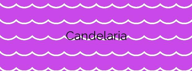 Información de la Playa Candelaria en Candelaria