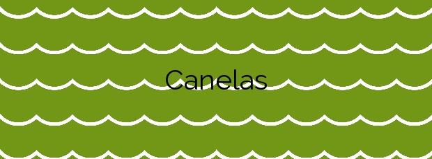 Información de la Playa Canelas en O Grove