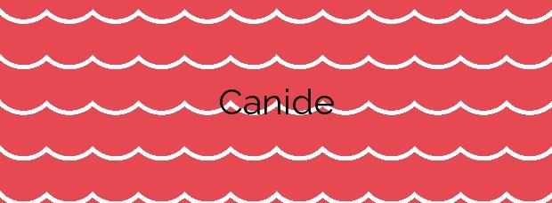 Información de la Playa Canide en Oleiros