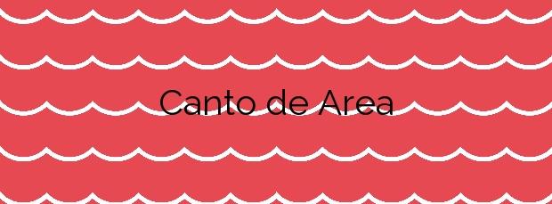 Información de la Playa Canto de Area en Vigo