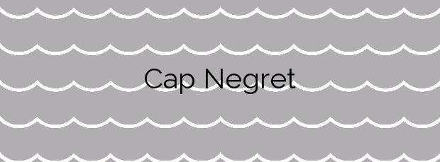 Información de la Playa Cap Negret en Altea