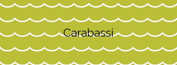 Información de la Playa Carabassí en Elche