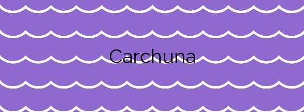 Información de la Playa Carchuna en Motril