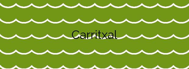 Información de la Playa Carritxal en Villajoyosa