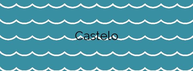 Información de la Playa Castelo en Narón