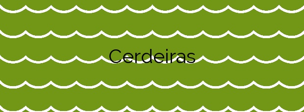 Información de la Playa Cerdeiras en Cedeira