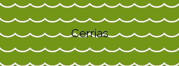 Información de la Playa Cerrias en Piélagos